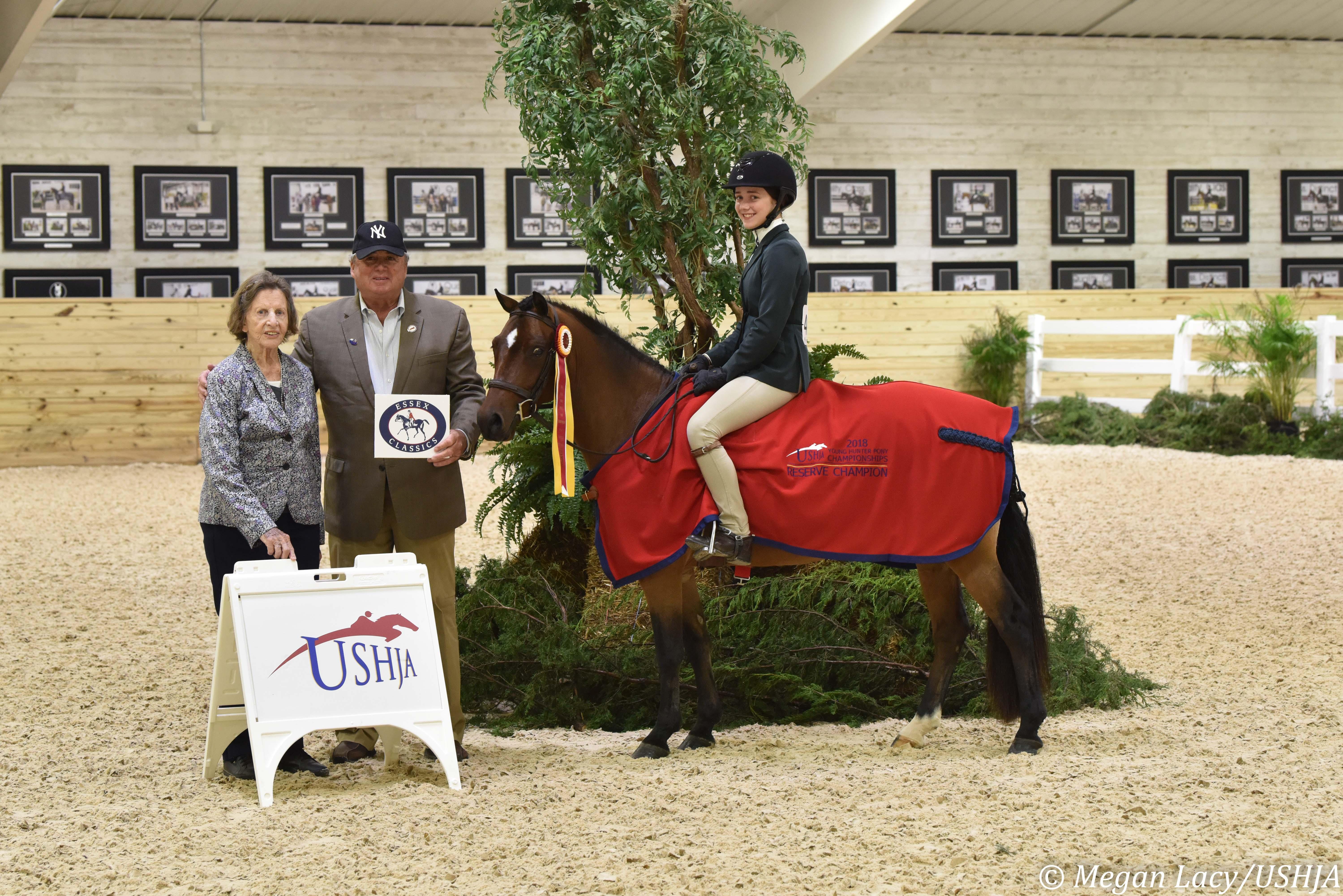 Inaugural USHJA Young Hunter Pony Championships Highlight Pony